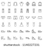 clothes line icon | Shutterstock .eps vector #1140227231