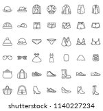 clothes line icon | Shutterstock .eps vector #1140227234