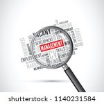 management text background on a ... | Shutterstock .eps vector #1140231584