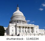 united states capitol | Shutterstock . vector #1140234