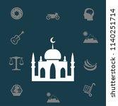 mosque vector illustration | Shutterstock .eps vector #1140251714