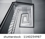 stairs step architecture...   Shutterstock . vector #1140254987