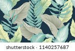 Tropical Seamless Pattern  ...