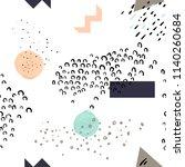 modern abstract seamless...   Shutterstock .eps vector #1140260684