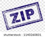 zip stamp seal print with... | Shutterstock .eps vector #1140260831