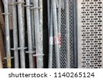 fittings and building materials | Shutterstock . vector #1140265124
