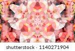 geometric design  mosaic of a...   Shutterstock .eps vector #1140271904