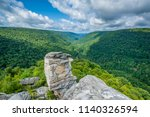 view of the blackwater canyon... | Shutterstock . vector #1140326594