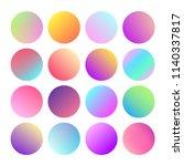 modern abstract round gradient...