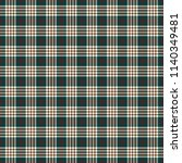 tartan traditional checkered... | Shutterstock .eps vector #1140349481