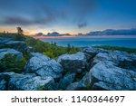 sunrise view from bear rocks...   Shutterstock . vector #1140364697
