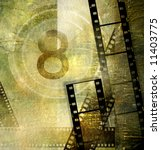 movie background - stock photo