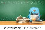 back to school concept with... | Shutterstock . vector #1140384347
