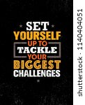 set yourself up to tackle your... | Shutterstock .eps vector #1140404051