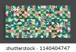 cover design template for... | Shutterstock .eps vector #1140404747