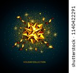 abstract vector holiday... | Shutterstock .eps vector #1140422291