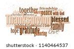 graphic typographic montage... | Shutterstock .eps vector #1140464537