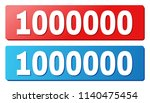 1000000 text on rounded... | Shutterstock .eps vector #1140475454