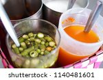 thai ingredient flavoring set...   Shutterstock . vector #1140481601
