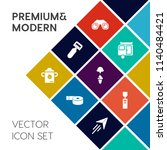 modern  simple vector icon set... | Shutterstock .eps vector #1140484421