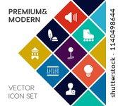 modern  simple vector icon set...   Shutterstock .eps vector #1140498644