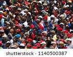 montreal  saturday june 9  2018.... | Shutterstock . vector #1140500387