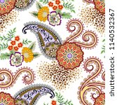 seamless bright  pattern with... | Shutterstock .eps vector #1140532367