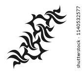 graphic tattoo design. stencil. ...   Shutterstock .eps vector #1140532577