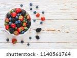 Fresh Juicy Ripe Berries ...
