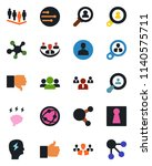 color and black flat icon set   ...   Shutterstock .eps vector #1140575711