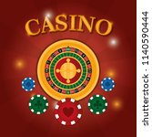 casino game concept | Shutterstock .eps vector #1140590444