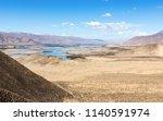 typical landscape of tibet  ... | Shutterstock . vector #1140591974