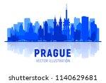 prague   czech republic  ... | Shutterstock .eps vector #1140629681