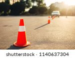 cones for the examination ... | Shutterstock . vector #1140637304