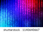 dark blue  red vector template... | Shutterstock .eps vector #1140640667