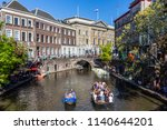 utrecht  netherlands   may 5 ... | Shutterstock . vector #1140644201