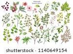 watercolor illustration.... | Shutterstock . vector #1140649154