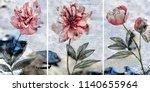 collection of designer oil...   Shutterstock . vector #1140655964
