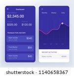 money transaction  business ... | Shutterstock .eps vector #1140658367
