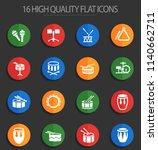 rhythm instruments web icons... | Shutterstock .eps vector #1140662711