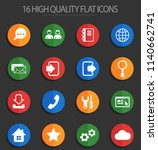 web tools vector icons for web... | Shutterstock .eps vector #1140662741