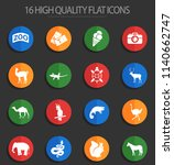zoo web icons for user... | Shutterstock .eps vector #1140662747
