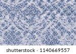 ikat seamless pattern.  tie dye ...   Shutterstock . vector #1140669557