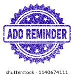 add reminder stamp imprint with ...   Shutterstock .eps vector #1140674111