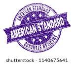 american standard stamp seal...   Shutterstock .eps vector #1140675641