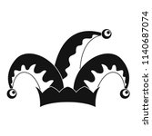 humor jester icon. simple... | Shutterstock .eps vector #1140687074