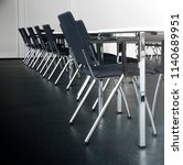 chairs in university classroom... | Shutterstock . vector #1140689951