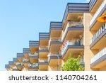 modern luxury scandinavia... | Shutterstock . vector #1140704261