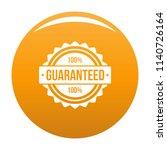 guaranteed logo. simple... | Shutterstock .eps vector #1140726164
