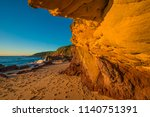 middle beach sandstone  this... | Shutterstock . vector #1140751391